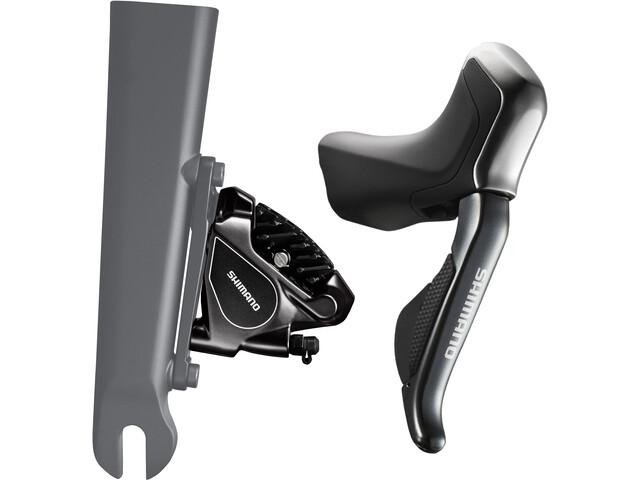 Shimano Road Di2 ST-R785/BR-RS805 Disc Brake 11-fold grey/black